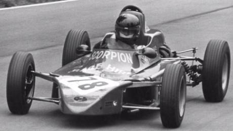 His driving talent first came to the fore when he competed in the British Formula Ford Championship in 1977 (Courtesy: Chassy Media)