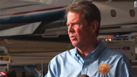Georgia governor and Atlanta mayor at odds over coronavirus guidelines