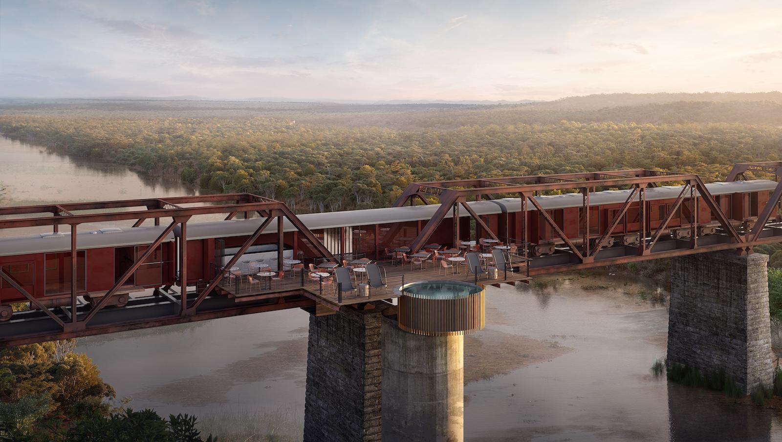 A Sneak Peek Of Kruger Shalati The Train On The Bridge Cnn Travel