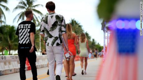 Miami-Dade to shut down restaurants again as Florida's Covid-19 hospitalizations surge