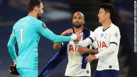 Jose Mourinho: Hugo Lloris-Son Heung-min clash 'beautiful' - Tottenham boss