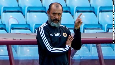 Wolverhampton Wanderers boss Nuno Espirito Santo is currently the only black manager in the Premier League.