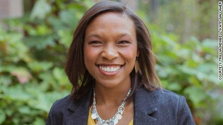 Trillia Newbell says her faith has been tested by people who make racist comments.
