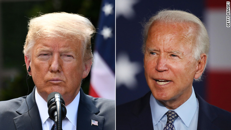 Trump wants Americans to believe Biden is a radical leftist. It's a tough sell.