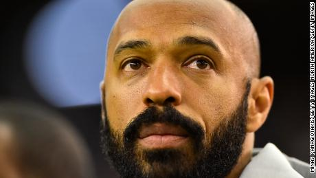 Thierry Henry kneels during match to honor George Floyd