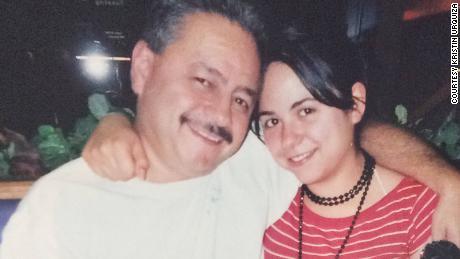Mark Urquiza and his daughter Kristin Urquiza.