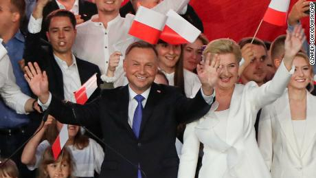 Duda declares victory in Poland's presidential race but rival says too close to call