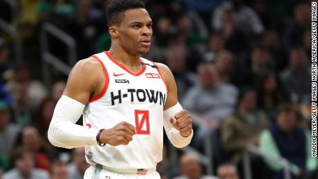 Houston Rockets star Russell Westbrook tests positive for coronavirus