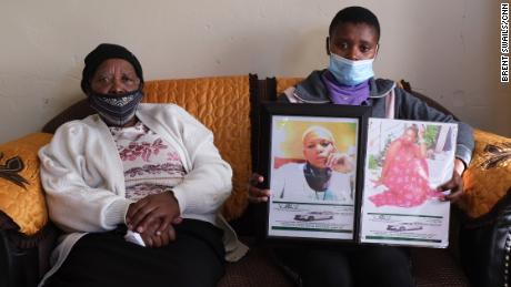Mavis and Brenda Gabada say they are living in fear after Sibongiseni Gabada was killed.