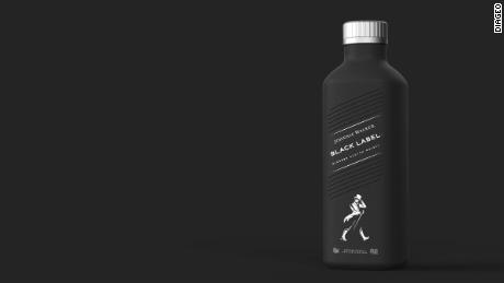 Diageo has created the world's first ever 100% plastic free paper-based spirits bottle.