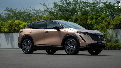 Nissan unveils its first electric SUV, the Ariya