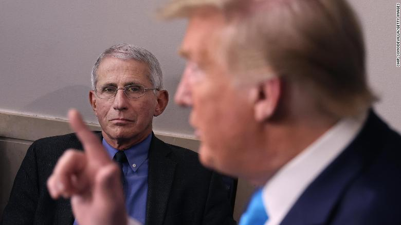 How Anthony Fauci beat Donald Trump in 2020