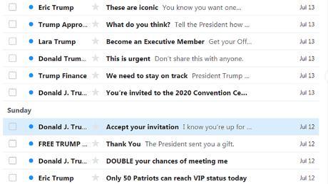 Trump Campaign Emails