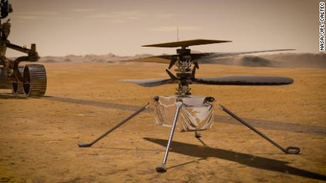 Ingenuity will be the first helicopter to fly on Mars