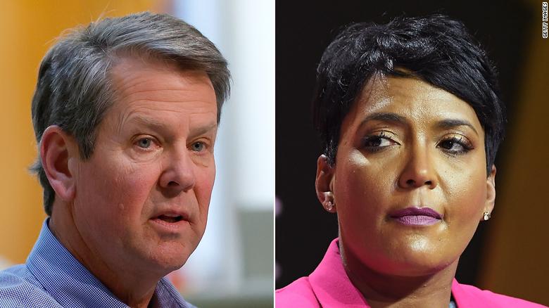 GA Gov Kemp drops COVID lawsuit against Atlanta officials