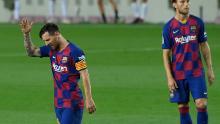 Lionel Messi ha mostrado una figura visiblemente frustrada en ocasiones para el Barcelona esta temporada.