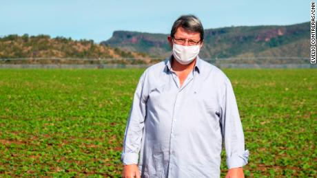 Farmer Fabianno Dall Agnoll says he wants to heal forests and relations with indigenous people.