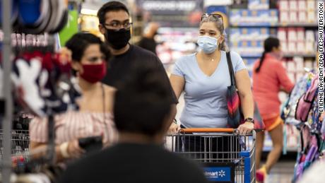 Walmart begins requiring all customers to wear face masks