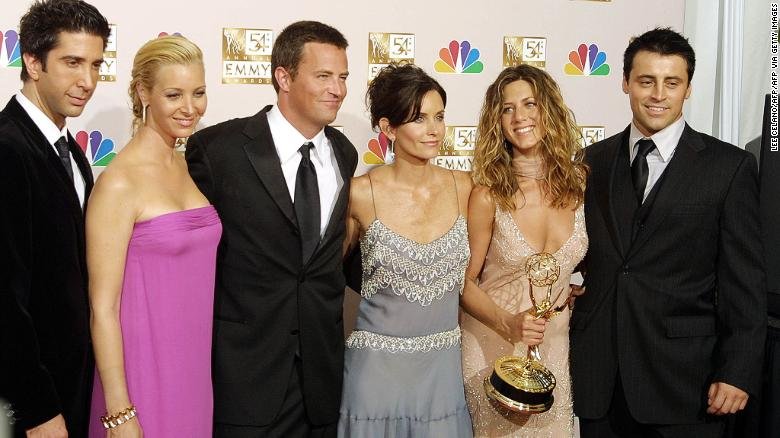 Matthew Perry says 'Friends' reunion to film in March
