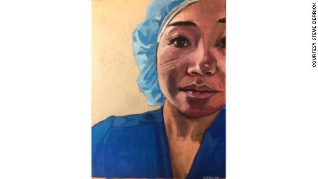 Sandy Tran is an emergency room nurse in Las Vegas who worked in the intensive care unit at Jacobi Hospital in the Bronx.