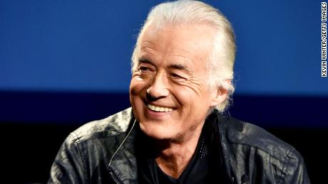 "Jimmy Page teamed up with The Rolling Stones on track ""Scarlet"""