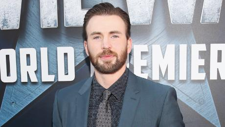"Chris Evans at the world premiere of Marvel's ""Captain America: Civil War"" at Dolby Theatre in 2016 in Los Angeles."