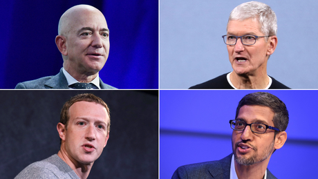 America's top tech CEOs can't agree on whether China steals from them