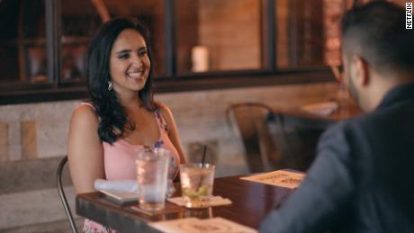 "Aparna in Season 1, Episode 2 of ""Indian Matchmaking."" Everyone's got an opinion on this 34-year-old lawyer who wanted to settle down but not settle."