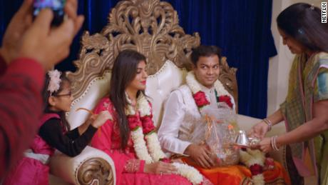 "Radhika and Akshay get engaged in episode 8 of ""Indian Matchmaking."" Akshay had said he was looking for a life partner similar to his mother."
