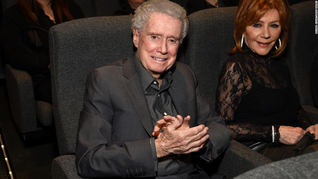 "Regis and Joy Philbin attend the Los Angeles screening of the film ""Burden"" on February 27, 2020."