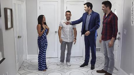 "A scene from ""Property Brothers Buying and Selling."""