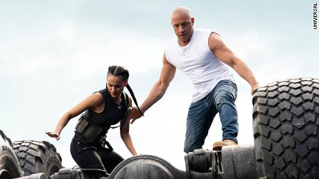 The greatest stunt yet from 'Fast & Furious': Saving movie theaters