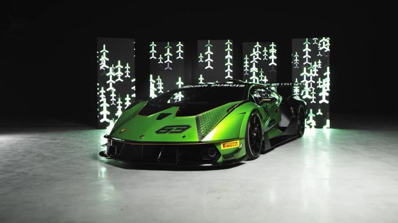 Lamborghini Essenza SCV12 is an 830-horsepower track weapon