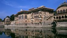 Deeg Palace en el distrito de Bharatpur, Rajasthan, India.