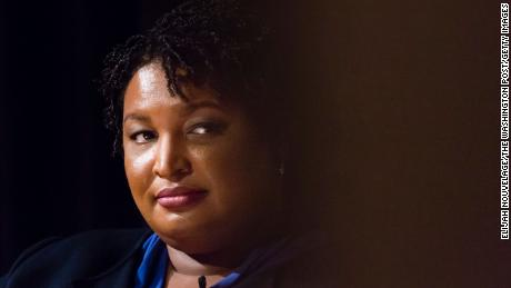 For Stacey Abrams, revenge is a dish best served blue