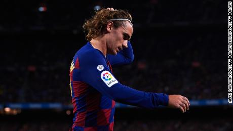 Antoine Griezmann has failed to live up to his previous performances since signing for Barcelona.