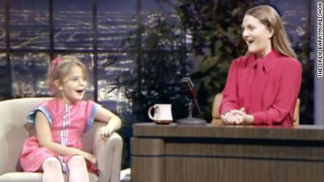 Drew Barrymore Interviews Younger Self In Promo For New Daytime Talk Show