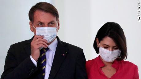 Brazil's President Jair Bolsonaro and his wife Michelle Bolsonaro have both tested positive for the coronavirus.