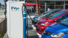 GM and EVgo are building more than 2,700 fast chargers over the next five years.