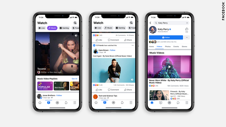 Facebook is launching licensed music videos on its platform, a direct challenge to YouTube, which has long been a popular place for discovering new artists and listening to songs.