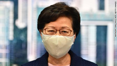 Hong Kong Chief Executive Carrie Lam said elections planned for September would be postponed because of the coronavirus.