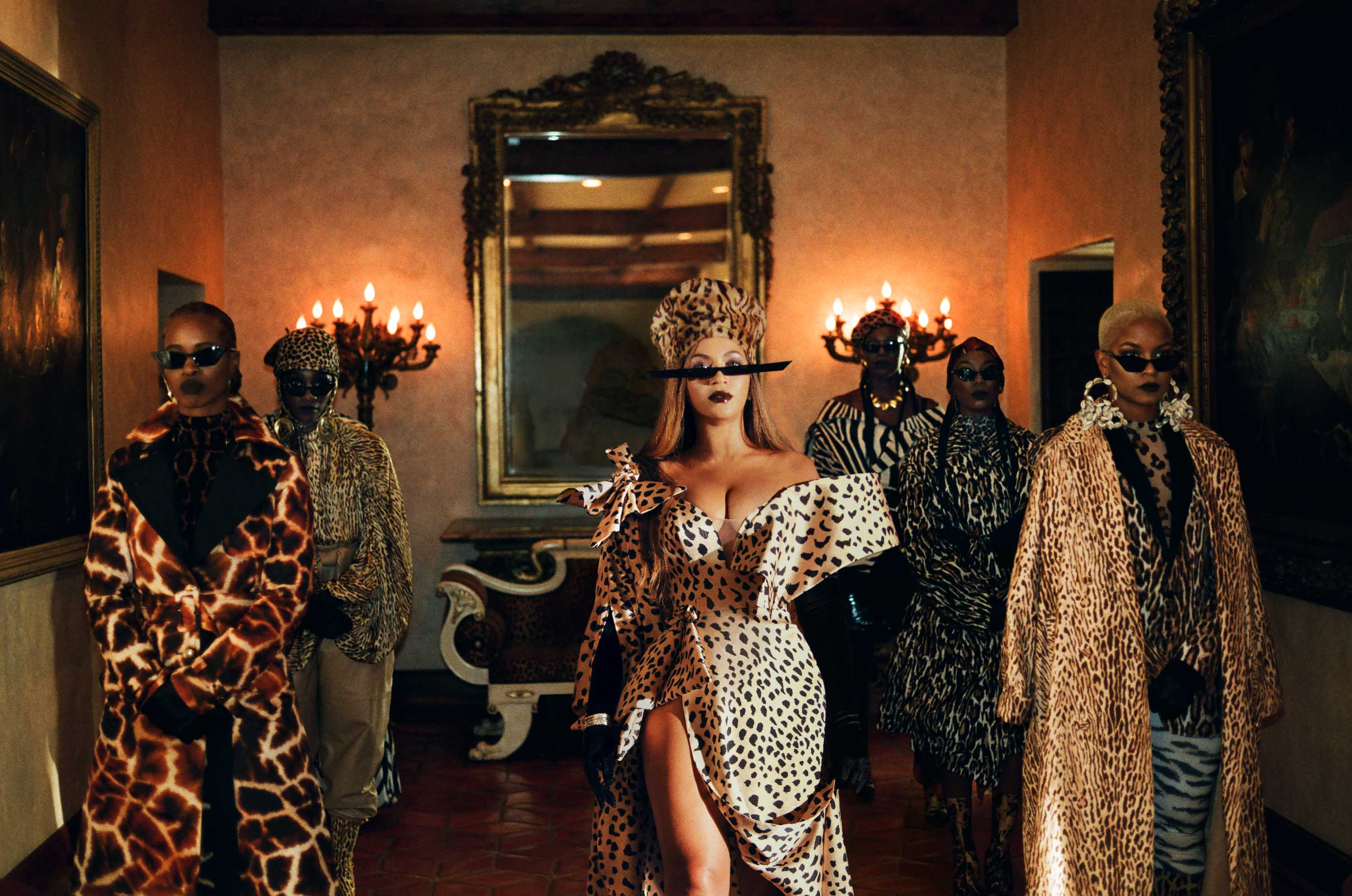 Black Is King Beyonce S Visual Album Is A Feast Of Fashion And Symbolism Cnn Style