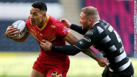 Folau joined Catalans Dragons earlier this year.