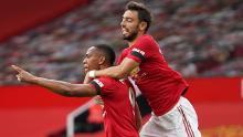 Fernandes ha dado más oportunidades a los tres delanteros del United.