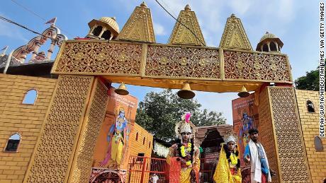 India's Narendra Modi lays foundation stone at divisive Ayodhya temple despite rise in coronavirus cases