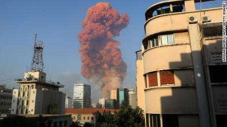 Massive Explosion Rocks Beirut, Damaging Buildings And Shattering Windows