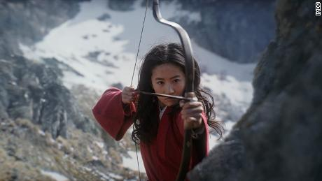 Yifei Liu in 'Mulan,' which premiered on Disney+ in the US.
