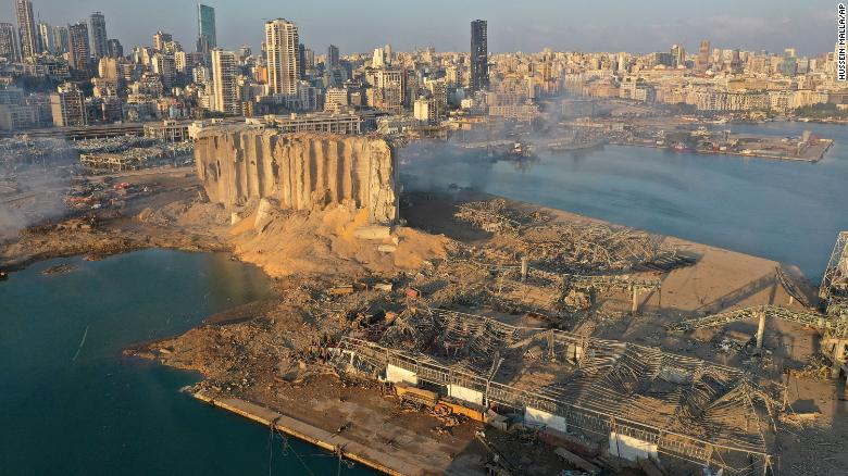 Anger and sadness as Beirut marks one week since deadly explosion
