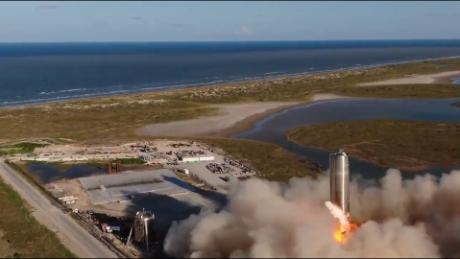 SpaceX completes examination flight of Mars rocket prototype - Science & Tech