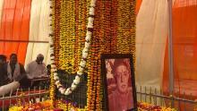 Un santuario en la ciudad de Deeg, Rajasthan, que marca el de Raja Man Singh